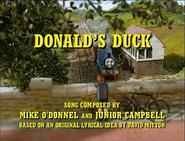Donald'sDuck(song)titlecard