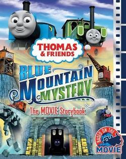 BlueMountainMysteryTheMovieStorybook
