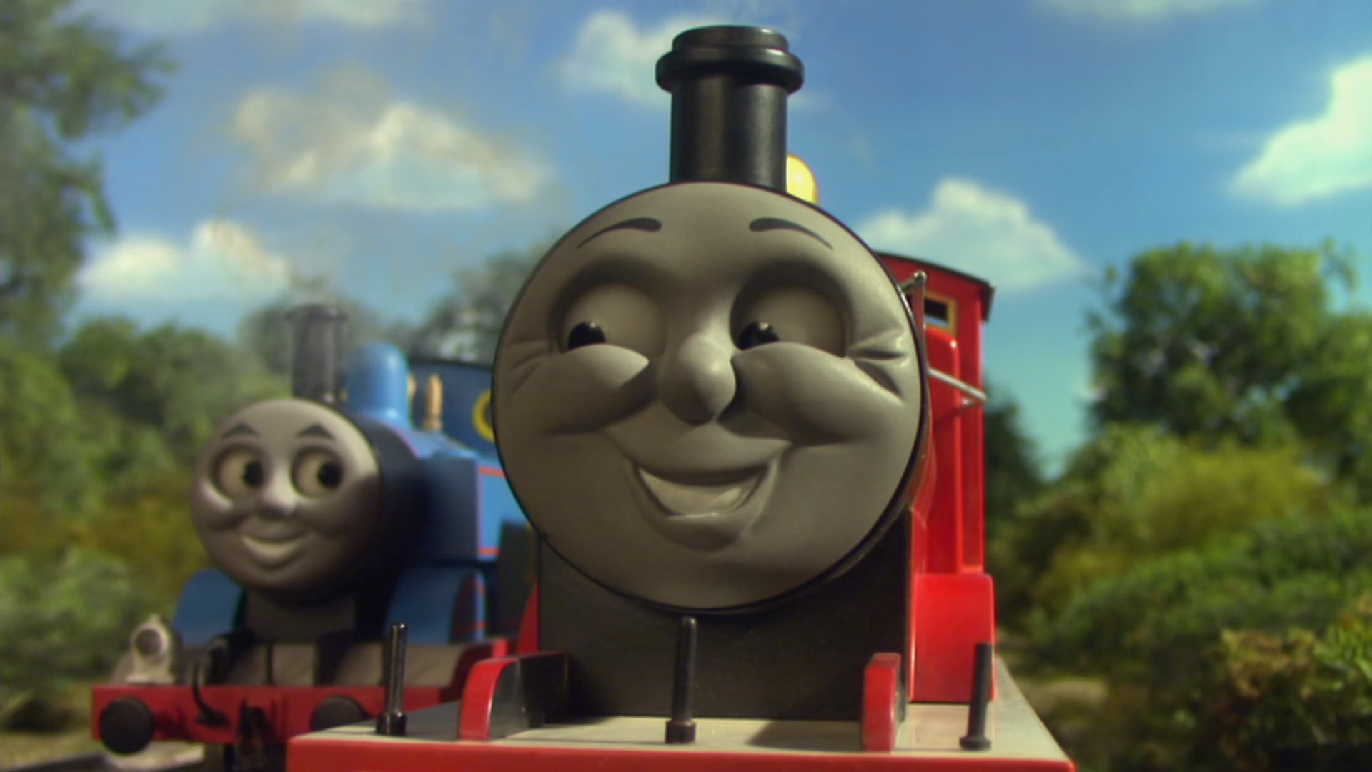 Thomas and James are Racing | Thomas the Tank Engine Wikia | Fandom powered by Wikia