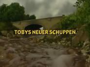 Toby'sNewShedGermantitlecard