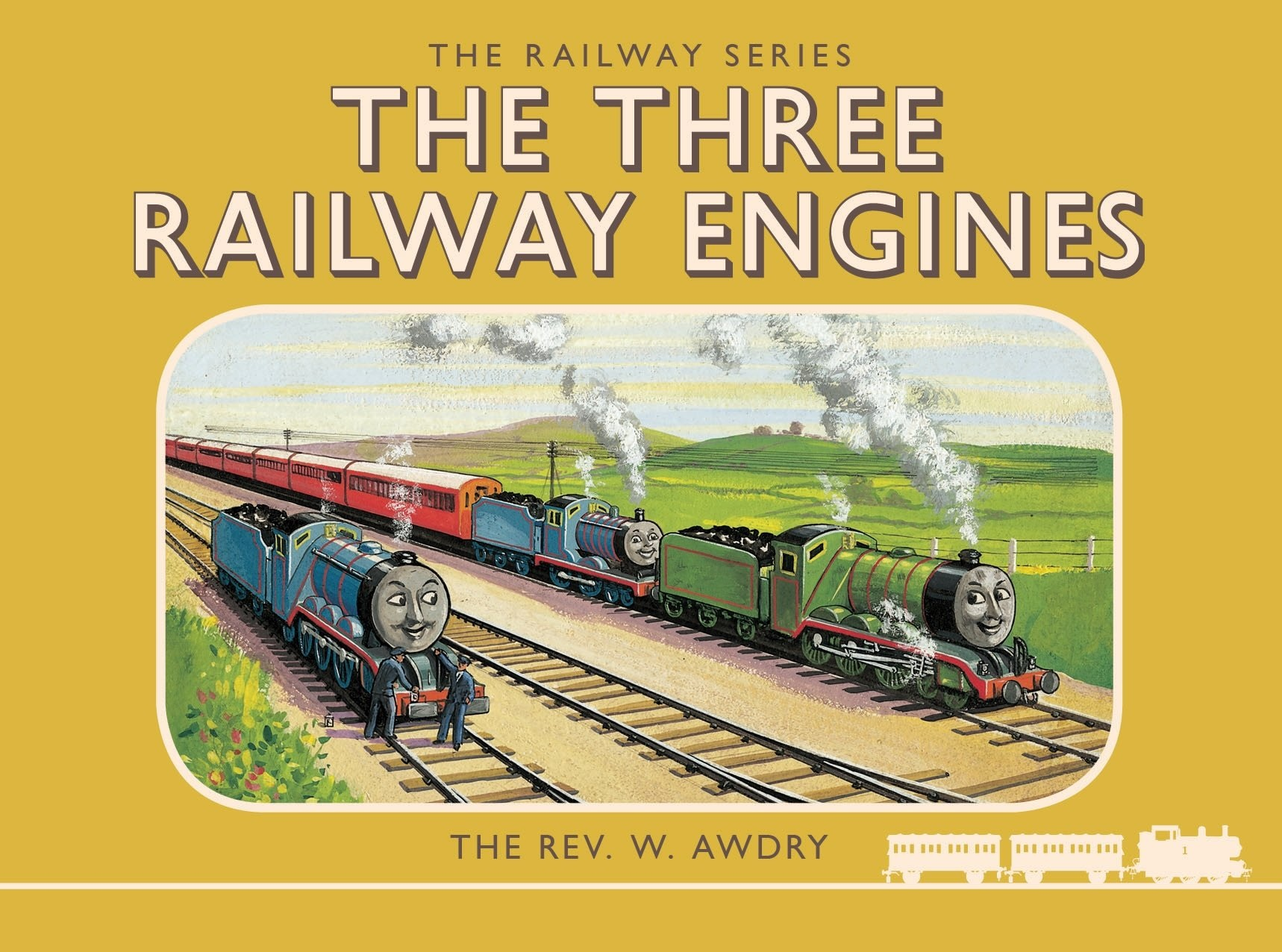 The Three Railway Engines book collection Rev W Awdry Thomas