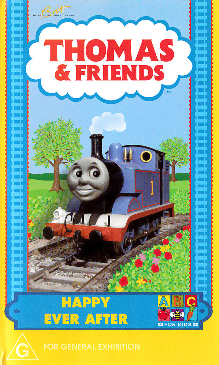 Happy Ever After Vhs Thomas The Tank Engine Wikia