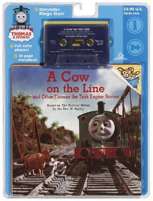 File:ACowontheLineandOtherThomastheTankEngineStoriesbookandcassette.jpg
