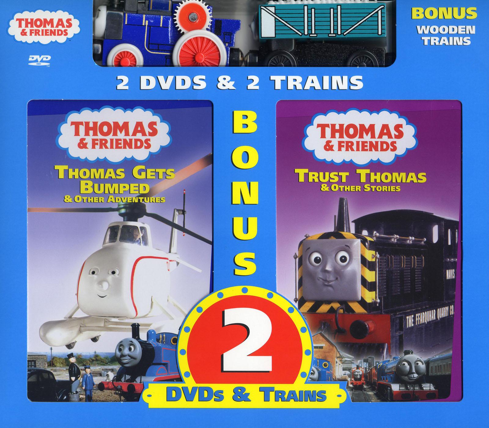 File:ThomasGetsBumpedandTrustThomasDVD2-packwithWoodenRailwayFergusandRickety.png