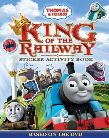 King of the Railway: Sticker Activity Book | Thomas the ...