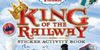 King of the Railway: Sticker Activity Book