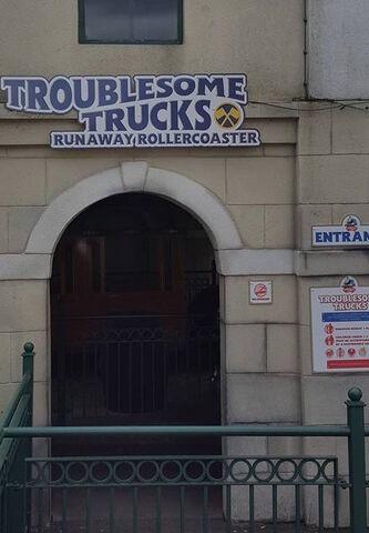 File:TroublesomeTrucksRunawayCoaster2016Sign.jpg
