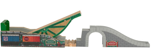 File:WoodenRailwayTidmouth'sTippingBridge.jpg