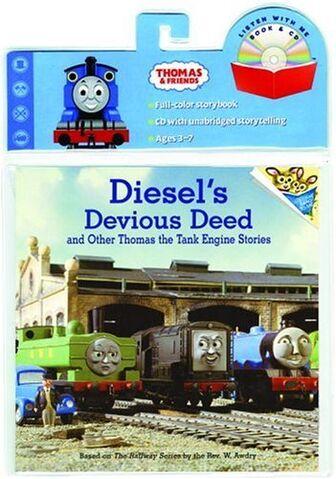 File:Diesel'sDeviousDeedandOtherThomastheTankEngineStoriesbookandCD.jpg