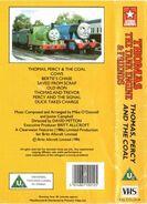 Thomas,PercyandtheCoalandOtherStoriesbackcoverandspine