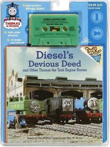 File:Diesel'sDeviousDeedandOtherThomastheTankEngineStoriesbookandcassette.jpg