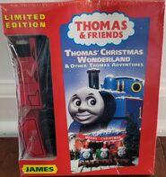 Thomas'ChristmasWonderlandandOtherThomasAdventureswithWoodenRailwayJames