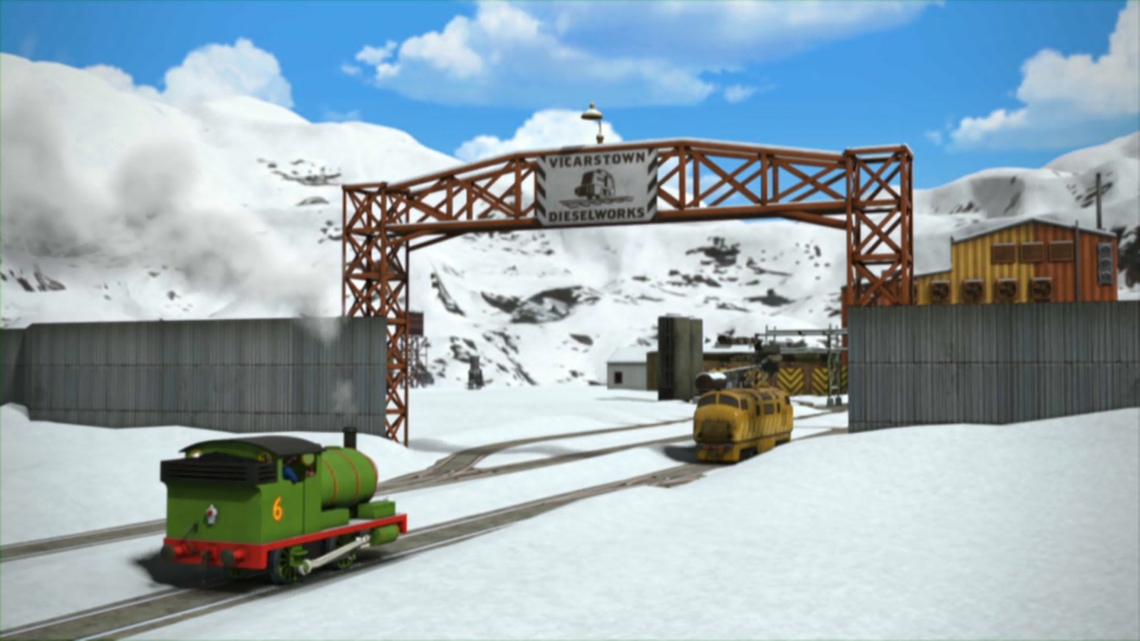The missing christmas decorations uk hd - The Missing Christmas Decorations Thomas The Tank Engine Wikia Fandom Powered By Wikia