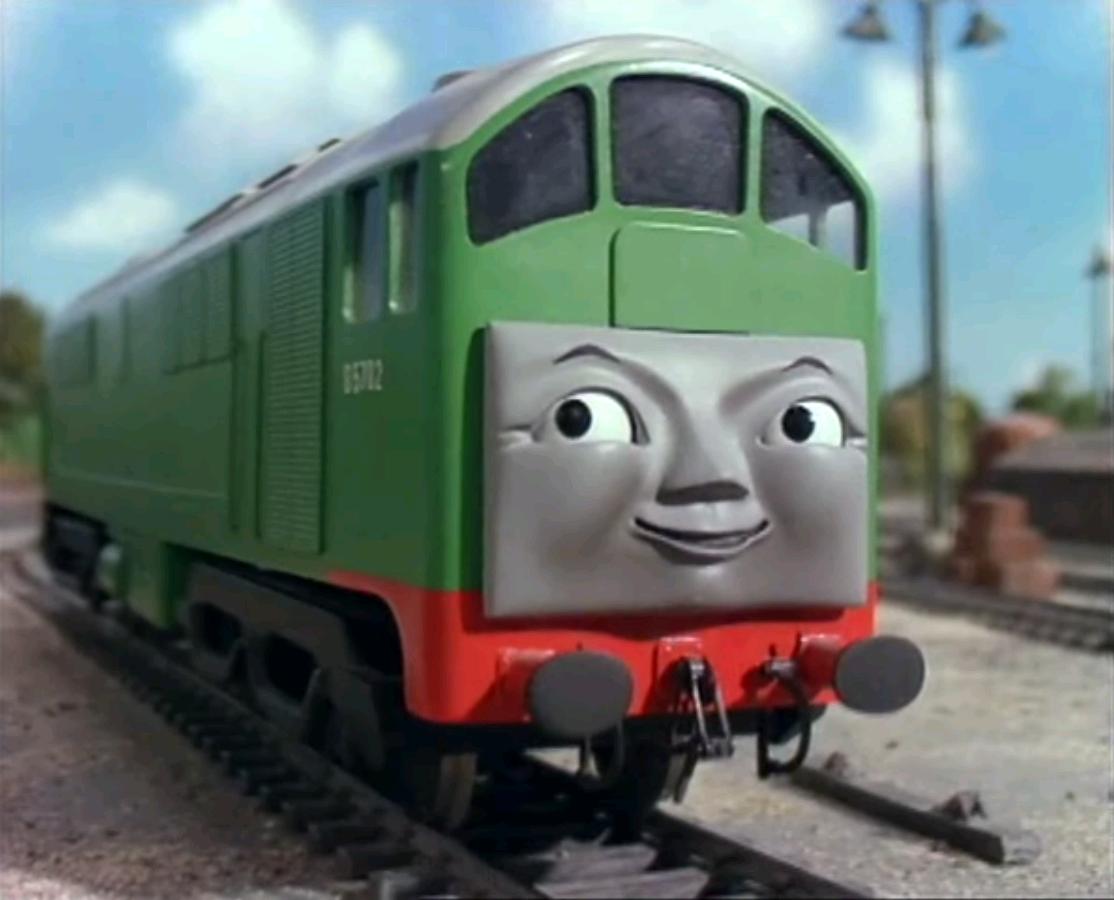 Thomas and friends caroline