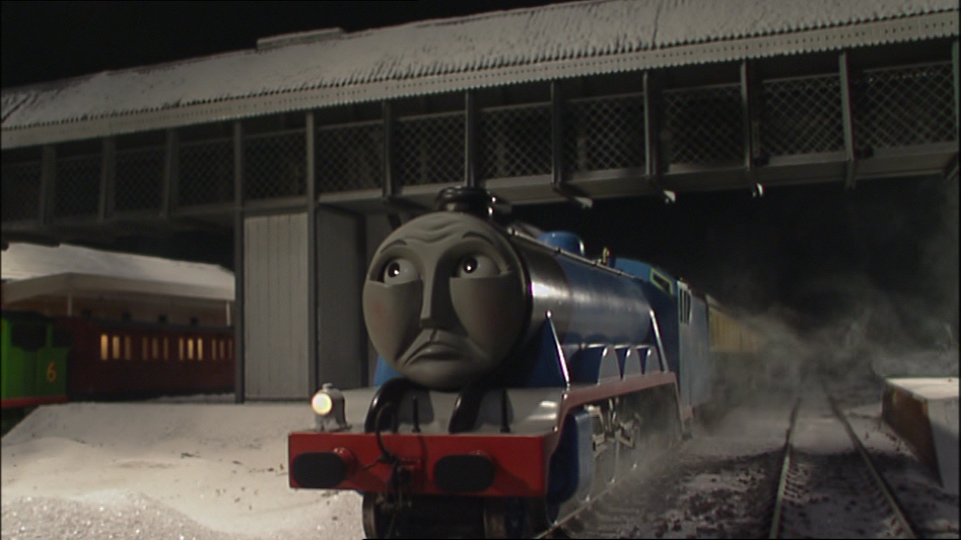 Image Gordontakescharge68 Png Thomas The Tank Engine
