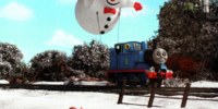 Thomas' Frosty Friend (magazine story)