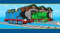 Thomas and Percy Play Hide and Seek