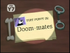 Doom-mates Title Card