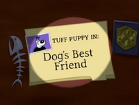 Dogs Best Friend Title Card