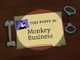 Monkey Business Title Card