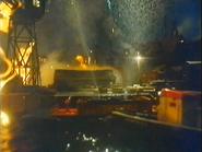 Fire Barge Sunshine