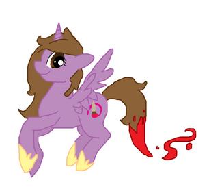 My little me alicorn version by silversableye-d4zr9dk