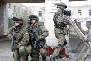 Polish Soldiers Urban Training