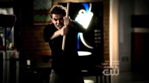 Vampire Diaries 3x05 - Stefan Bites Elena
