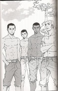 Twilight manga quileute gang
