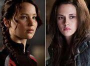 Katniss and bella!