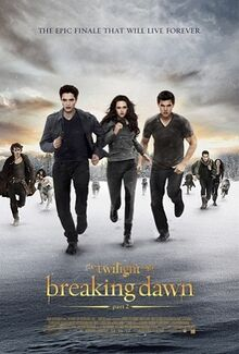 The Twilight Saga Breaking Dawn Part 2 poster