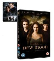 Twilight&Newmoondvd