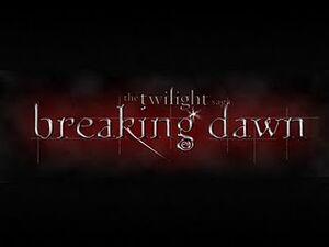Breaking dawn title