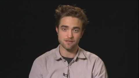 The Twilight Saga Breaking Dawn Part 2 Robert Pattinson shoutout