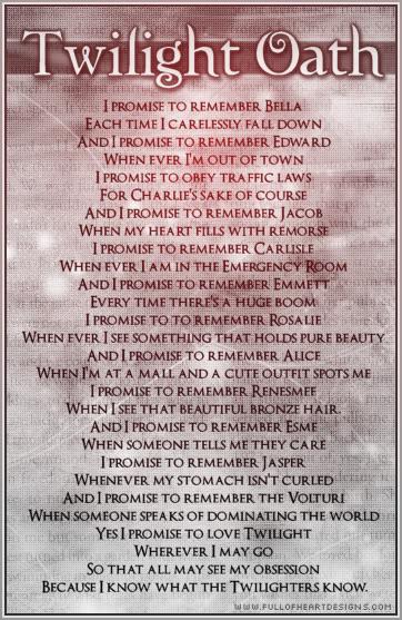 Twilight oath