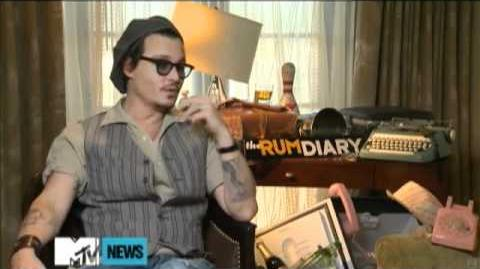 Johnny Depp Calls His 'Dark Shadows' Vampire 'Classic' - TRD Press Junket