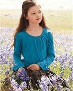 Mackenzie Foy in the Meadow