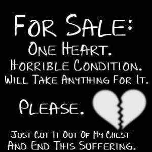 File:For Sale. One Heart. Horrible Condition. Will Take Anything for it. Please. Just Cut It Out Of My Cest And End This Suffering..jpg