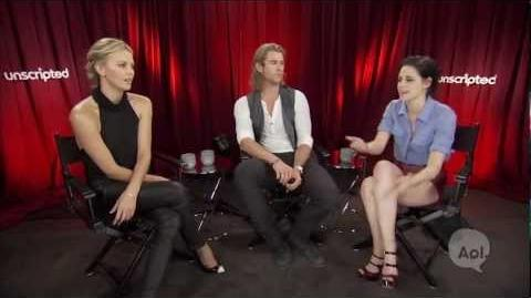 Unscripted Moviefone Interview w the
