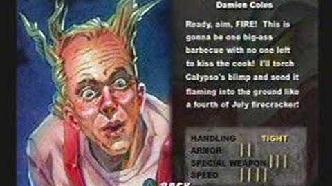 Twisted Metal III - Firestarter's Info