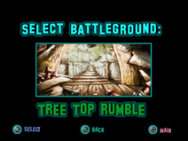 Twisted Metal - Small Brawl - Tree Top Rumble lvlsel