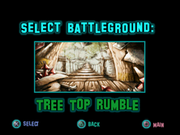 Twisted Metal - Small Brawl - Tree Top Rumble lvlsel