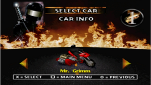 Twisted metal 2 mr. grimm
