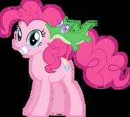 Pinkie pie and gummy by supermatt314-d4gotmj