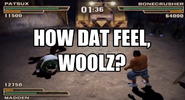 Def Jam How Dat Feel, Woolz