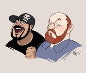 Fan Art Two Best Friends phildragash