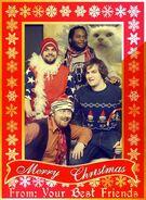 Best Friends Zaibatsu Christmas Card