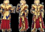 Gilgamesh ufotable Fate Zero Character Sheet 1