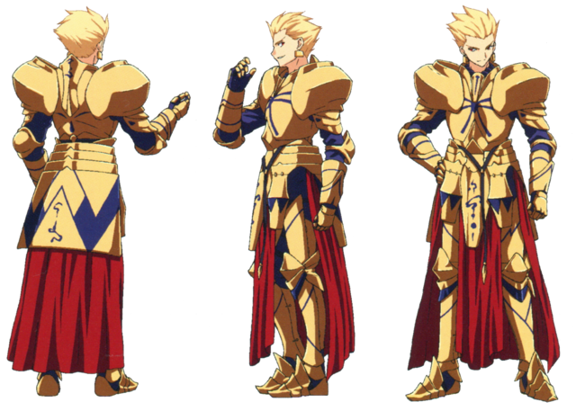 File:Gilgamesh ufotable Fate Zero Character Sheet 1.png