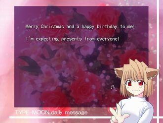 Birthday Arcueid